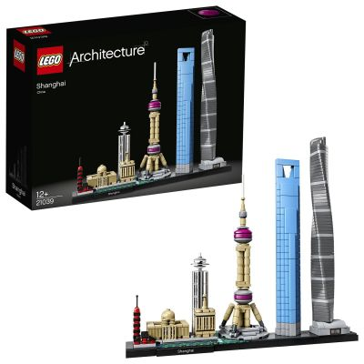 LEGO Architecture Shanghai - 21039 Best Price, Cheapest Prices