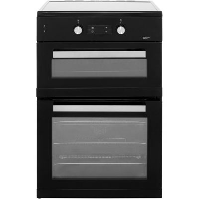 Beko BDI6C55K Electric Cooker with Induction Hob - Black - A/A Rated