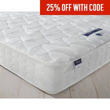 Silentnight Travis Miracoil Microquilt Double Mattress Best Price, Cheapest Prices