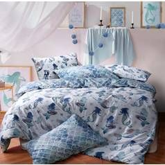 Argos Home Mermaid Bedding Set - Double Best Price, Cheapest Prices