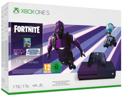 Xbox One S 1TB Fortnite Battle Royale Special Edition Bundle Best Price, Cheapest Prices