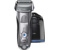 BRAUN Series 7 7898CC Wet and Dry Foil Shaver - Silver Best Price, Cheapest Prices
