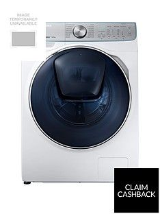 Samsung WW10M86DQOA/EU 10kg Load, 1600 Spin, QuickDrive™ Washing Machine with AddWash™ - White Best Price, Cheapest Prices