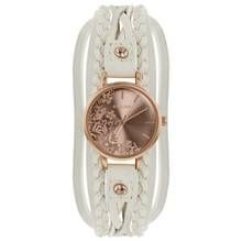 Kahuna Ladies' Rose Gold Dial with Cream Multi Strap Watch Best Price, Cheapest Prices
