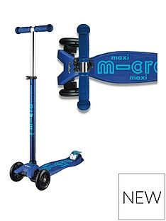Micro Scooter Maxi Deluxe - Navy Best Price, Cheapest Prices