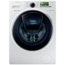 Samsung AddWash WW12K8412OW 12KG 1400 Washing Machine- White Best Price, Cheapest Prices
