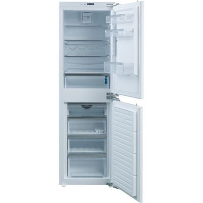 Rangemaster RFXF5050/INT Integrated 50/50 Frost Free Fridge Freezer with Fixed Door Fixing Kit - White - A+ Rated Best Price, Cheapest Prices