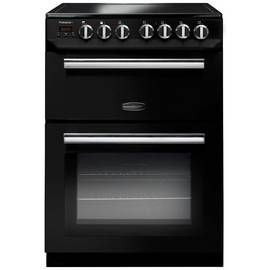 Rangemaster PROP60ECBL/C 60cm Double Electric Cooker - Black Best Price, Cheapest Prices