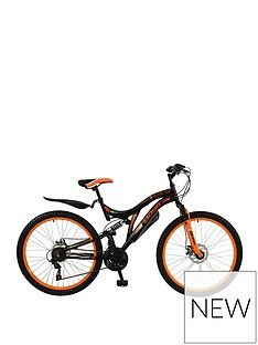 Boss Cycles Boss Black Ice Mens Mountain Bike 18 inch Frame Best Price, Cheapest Prices