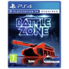 Battlezone PS4 VR Game Best Price, Cheapest Prices