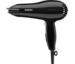 BABYLISS Powerlight 2000 Hair Dryer - Black Best Price, Cheapest Prices