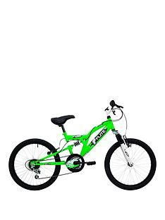 Flite Turbo Full Suspension Boys Bike 20 inch Wheel Best Price, Cheapest Prices