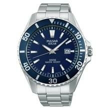 Pulsar Men's Diver Style Silver Stainless Steel Strap Watch Best Price, Cheapest Prices