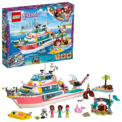 LEGO Friends Rescue Mission Boat - 41381 Best Price, Cheapest Prices