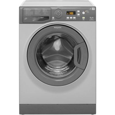 Hotpoint Aquarius WMAQF641G 6Kg Washing Machine with 1400 rpm - Graphite - A+ Rated Best Price, Cheapest Prices