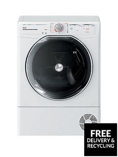 Hoover AXI ATDHY10A2TKEX10kgLoad, Aquavision, Hybrid Heat Pump Tumble Dryer with One-Fi Extra - White Best Price, Cheapest Prices