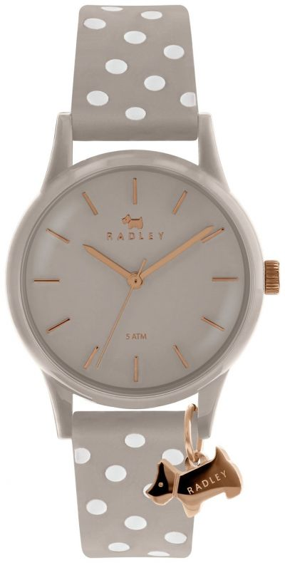 Radley Ladies Grey Silicone Strap Watch Best Price, Cheapest Prices