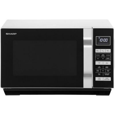 Sharp R360SLM 23 Litre Microwave - Silver Best Price, Cheapest Prices