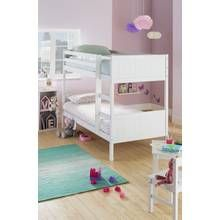 Argos Home Detachable White Bunk Bed Frame Best Price, Cheapest Prices