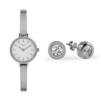Radley Ladies Stainless Steel Watch and Bracelet Gift Set Best Price, Cheapest Prices