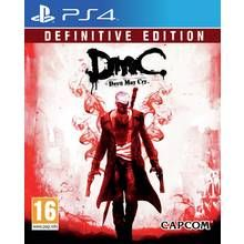 Devil May Cry Definitive Edition PS4 Game