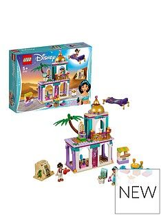 LEGO Disney Princess 41161 Aladdin and Jasmine's Palace Adventures Best Price, Cheapest Prices