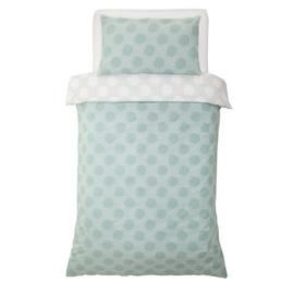Argos Home Spot Print Bedding Set - Single Best Price, Cheapest Prices