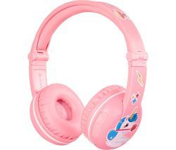 ONANOFF BuddyPhones Play Wireless Bluetooth Kids Headphones - Pink Best Price, Cheapest Prices