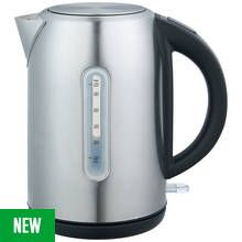 Cookworks Illuminated Kettle - Brushed Stainless Steel Best Price, Cheapest Prices