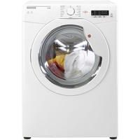 Hoover HLV8LG Link 8kg Freestanding Vented Sensor Tumble Dryer With One Touch - White With White Gla Best Price, Cheapest Prices