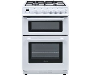 Electra TG60W Gas Cooker with Variable Gas Grill - White - B Rated Best Price, Cheapest Prices