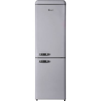 Swan SR11020FGRN 70/30 Frost Free Fridge Freezer - Grey - A++ Rated Best Price, Cheapest Prices
