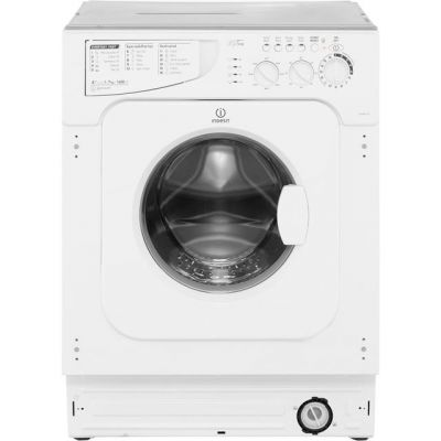 Indesit My Time EWME147 Integrated 7Kg Washing Machine with 1400 rpm - A++ Rated Best Price, Cheapest Prices