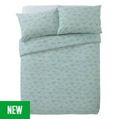 Argos Home Botanical Garden Butterfly Bedding Set - Double Best Price, Cheapest Prices