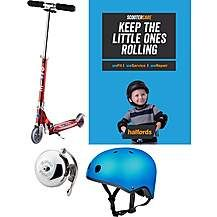 Micro Sprite Red Stripe Kids Scooter Bundle Best Price, Cheapest Prices