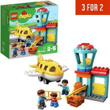 LEGO DUPLO My Town Airport and Airplane Toy - 10871 Best Price, Cheapest Prices