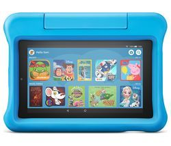 "AMAZON Fire 7"" Kids Edition Tablet (2019) - 16 GB, Blue Best Price, Cheapest Prices"