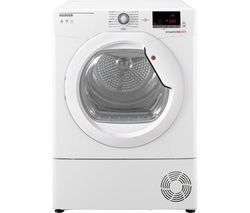 HOOVER Dynamic Next DX C10DG NFC 10 kg Condenser Tumble Dryer - White Best Price, Cheapest Prices