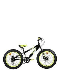 Sonic Sonic Fatbike 20 INCH 6 Speed Black/Yellow Best Price, Cheapest Prices