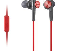 SONY MDRXB50APR.CE7 Headphones - Red Best Price, Cheapest Prices