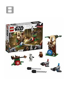 Lego Star Wars 75238 Action Battle Endor Assault, The Return Of The Jedi Best Price, Cheapest Prices