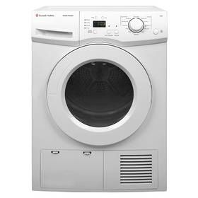 Russell Hobbs RH8CTD600 8KG Condenser Tumble Dryer - White Best Price, Cheapest Prices