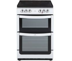 NEW WORLD NW551ETC 55 cm Electric Cooker - White Best Price, Cheapest Prices