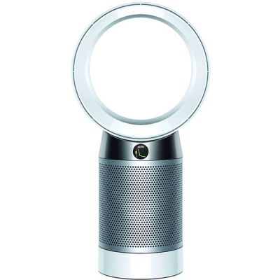 Dyson Pure Cool Desk DP04 Air Purifier - White / Silver Best Price, Cheapest Prices