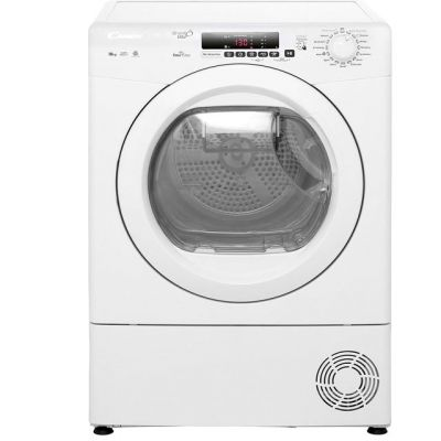 Candy Grand'O Vita GVSC10DE 10Kg Condenser Tumble Dryer - White - B Rated Best Price, Cheapest Prices