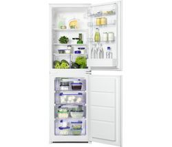 ZANUSSI ZBB27450SV Integrated 50/50 Fridge Freezer Best Price, Cheapest Prices