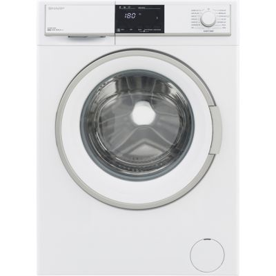 Sharp ES-HFB0143W3-EN 10Kg Washing Machine with 1400 rpm - White - A+++ Rated Best Price, Cheapest Prices