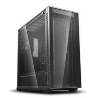 DEEPCOOL MATREXX 70 Mid Tower Chassis, Tempered Glass, 120mm Fan, Radiator Support, E-ATX/ATX/MicroATX/MiniITX Best Price, Cheapest Prices
