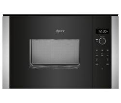 NEFF HLAWD23N0B Built-in Solo Microwave - Black Best Price, Cheapest Prices