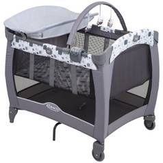 Graco Contour Electra Block Party Travel Cot Best Price, Cheapest Prices